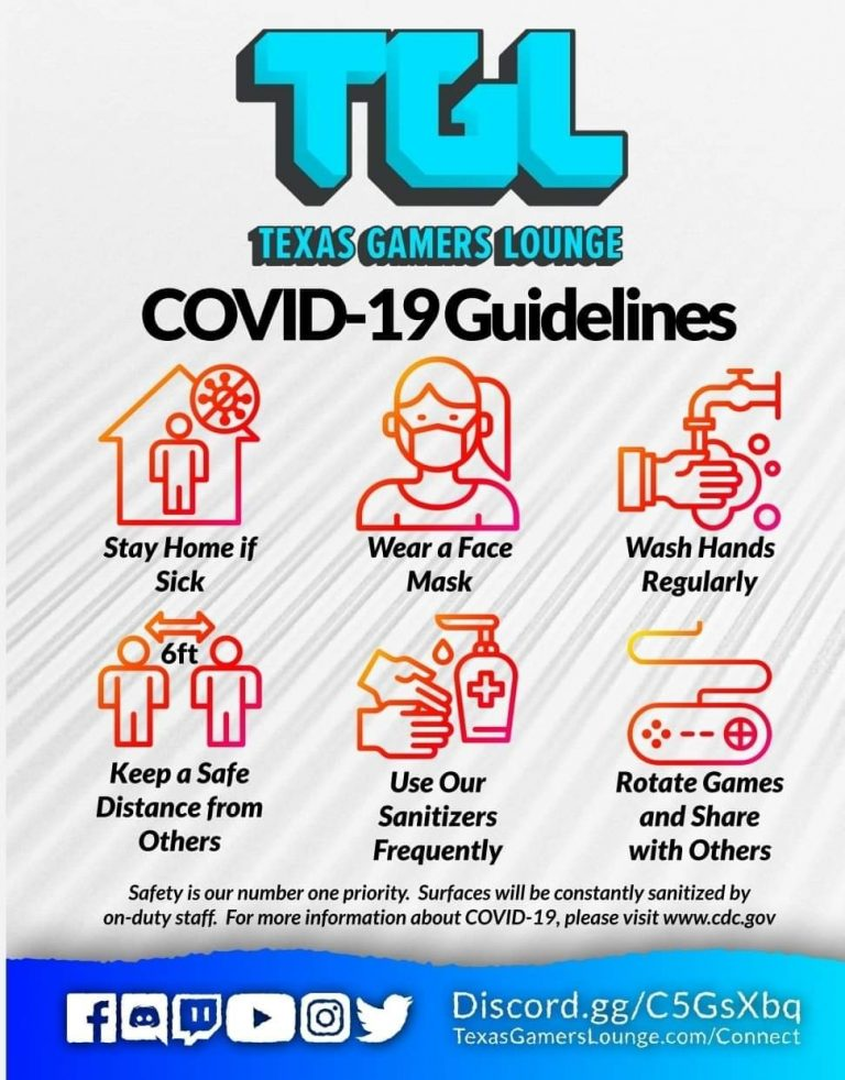 Covid Guidelines.